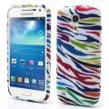 Купить Силиконовый чехол для Samsung Galaxy S4 mini Zebra на Apple-Land.ru