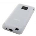 Купить Силиконовый чехол для Samsung Galaxy S2 белый на Apple-Land.ru