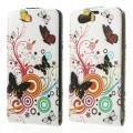Купить Flip чехол книжка для Sony Xperia Z1 Compact Butterfly на Apple-Land.ru