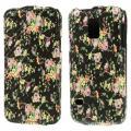 Купить Чехол Down Flip для Samsung Galaxy S5 mini Black Flower Pattern на Apple-Land.ru