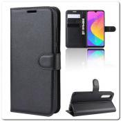 Купить Чехол Книжка Book Wallet с Визитницей и Кошельком для Xiaomi Mi A3 Черный на Apple-Land.ru