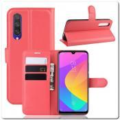 Купить Чехол Книжка Book Wallet с Визитницей и Кошельком для Xiaomi Mi A3 Красный на Apple-Land.ru