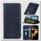 Купить Чехол Книжка с Скрытыми Магнитами Авто Закрытие для Huawei Honor 9X Pro Синий на Apple-Land.ru