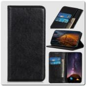 Купить Чехол Книжка с Скрытыми Магнитами Авто Закрытие для Samsung Galaxy A10 Черный на Apple-Land.ru