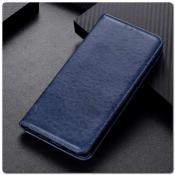 Купить Чехол Книжка с Скрытыми Магнитами Авто Закрытие для Samsung Galaxy A10 Синий на Apple-Land.ru