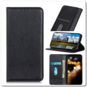 Купить Чехол Книжка с Скрытыми Магнитами Авто Закрытие для Xiaomi Mi A3 Черный на Apple-Land.ru