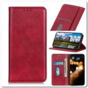 Купить Чехол Книжка с Скрытыми Магнитами Авто Закрытие для Xiaomi Mi A3 Красный на Apple-Land.ru