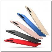 Купить Матовый Ультратонкий Пластиковый Mofi Чехол для Huawei Honor 20 Черный на Apple-Land.ru