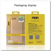Матовый Ультратонкий Пластиковый Mofi Чехол для Samsung Galaxy A50 Черный
