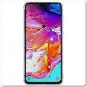 Купить Нескользящий Чехол Nillkin Nature для Мобильного Телефона Samsung Galaxy A70 Прозрачный на Apple-Land.ru