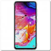 Купить Нескользящий Чехол Nillkin Nature для Мобильного Телефона Samsung Galaxy A70 Серый на Apple-Land.ru