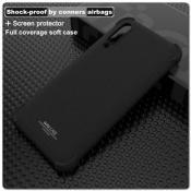 Купить Силиконовый Чехол IMAK Airbag с Усиленными Увеличенными Углами для Xiaomi Mi A3 Песочно-Черный на Apple-Land.ru