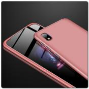 Купить Тройной Съемный Пластиковый Чехол GKK 360° для Samsung Galaxy A10 Ярко-Розовый на Apple-Land.ru