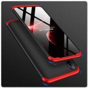 Купить Тройной Съемный Пластиковый Чехол GKK 360° для Samsung Galaxy A30 / Galaxy A20 Красный / Черный на Apple-Land.ru