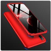 Купить Тройной Съемный Пластиковый Чехол GKK 360° для Samsung Galaxy A30 / Galaxy A20 Красный на Apple-Land.ru