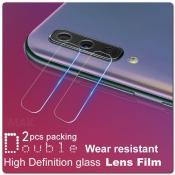 Купить Ультра прозрачное защитное стекло для объектива камеры Samsung Galaxy A50 на Apple-Land.ru