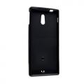 Силиконовый чехол для Sony Xperia P черный