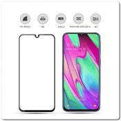 Купить Закаленное Защитное Стекло Mocolo с полным покрытием экрана для Samsung Galaxy A40 Черное на Apple-Land.ru