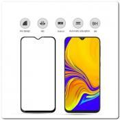 Купить Закаленное Защитное Стекло Mocolo с полным покрытием экрана для Samsung Galaxy A50 / Galaxy A20 Черное на Apple-Land.ru