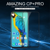 Защитное Закаленное Стекло NILLKIN Amazing CP+ для Huawei Honor 20 / Huawei Honor 20 Pro с Олеофобным Покрытием Черное
