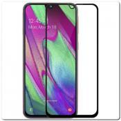 Купить Защитное Закаленное Стекло NILLKIN Amazing CP+ для Samsung Galaxy A40 с Олеофобным Покрытием Черное на Apple-Land.ru