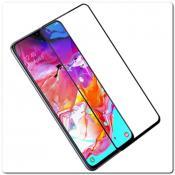 Купить Защитное Закаленное Стекло NILLKIN Amazing CP+ для Samsung Galaxy A70 с Олеофобным Покрытием Черное на Apple-Land.ru