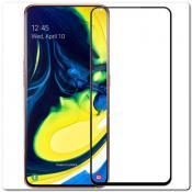 Купить Защитное Закаленное Стекло NILLKIN Amazing CP+ для Samsung Galaxy A80 с Олеофобным Покрытием Черное на Apple-Land.ru