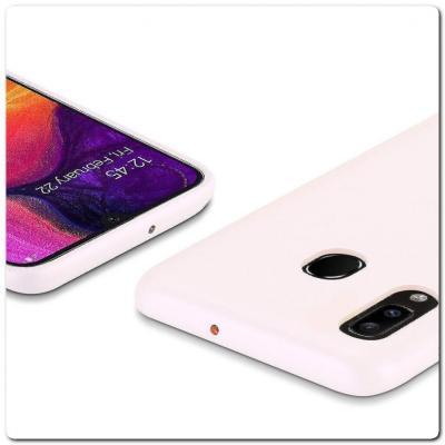 Тонкий Чехол Книжка DUX DUCIS из Гладкой Искусственной Кожи для Samsung Galaxy A30 / Galaxy A20 Розовый