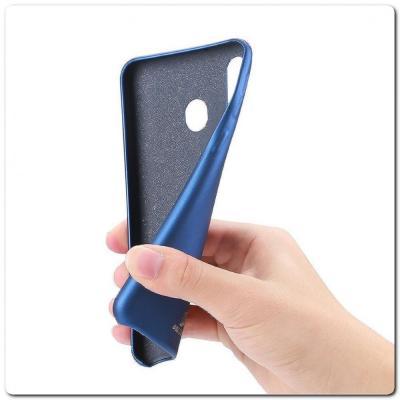 Тонкий Чехол Книжка DUX DUCIS из Гладкой Искусственной Кожи для Samsung Galaxy A40 Синий