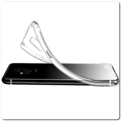 Тонкий TPU Силиконовый Бампер DF Чехол на Samsung Galaxy A80 Прозрачный