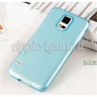 Силиконовый чехол ToughGuard для Samsung Galaxy S5 mini голубой