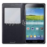 Чехол с функцией беспроводной зарядки для Samsung Galaxy S5 черный