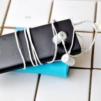 Наушники гарнитура Xiaomi MIUI с микрофоном голубые