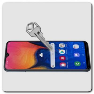 Закаленное Противоударное Защитное Стекло Nillkin Amazing H для Samsung Galaxy A10
