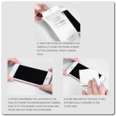Защитное Закаленное Стекло NILLKIN Amazing CP+ для Samsung Galaxy A40 с Олеофобным Покрытием Черное