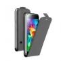 Вертикальный флип чехол для Samsung Galaxy S5 mini черный DEPPA