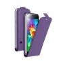 Вертикальный флип чехол для Samsung Galaxy S5 mini фиолетовый DEPPA